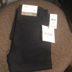 DL1961 Chloe Girls Skinny Jeans. Size 10
